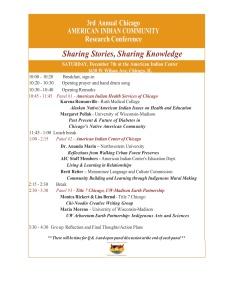 Community conference 2013 agenda