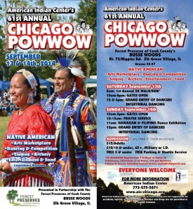 chicago powwow flyer